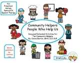 Community Helpers - People Who Help Us
