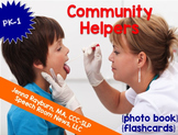 Community Helpers: Photo Book and Photo Flashcards