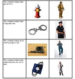 Community Helpers Picture Match