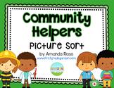 Community Helpers Picture Sort