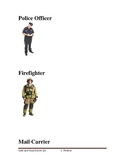 Community Helpers Picture Vocabulary Cards