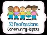Community Helpers - 30 Images
