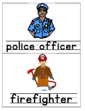 Community Helpers Pictures & Words