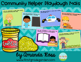 Community Helpers Playdough Mats