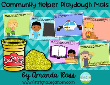 Community Helpers Playdough Mats 2767187 on Math Mats