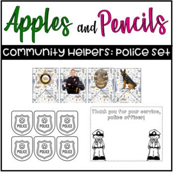 Community Helpers: Police Freebie