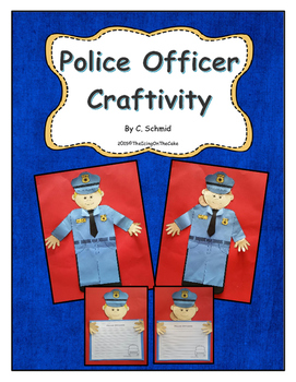 Community Helpers: Police Officer Craftivity