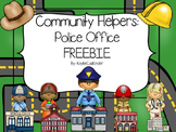 Community Helpers: Police Officer Freebie