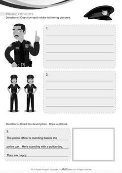 Community Helpers - Police Officers - Grade 2