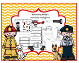 Community Helper's Police and Firefighters