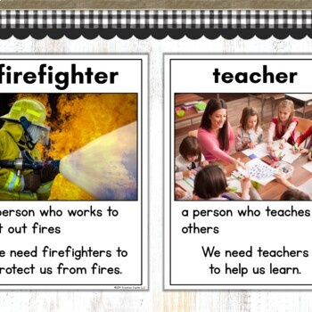 Community Helpers Posters