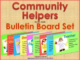 Community Helpers Posters / Bulletin Board Set