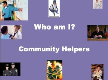 Community Helpers Powerpoint (Keynote)