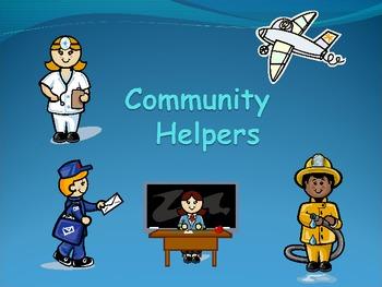 Community Helpers Powerpoint (12 slides)