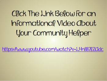 Community Helpers Powerpoint (FREEBIE)
