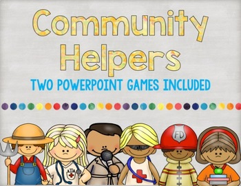 Community Helpers Powerpoint Games