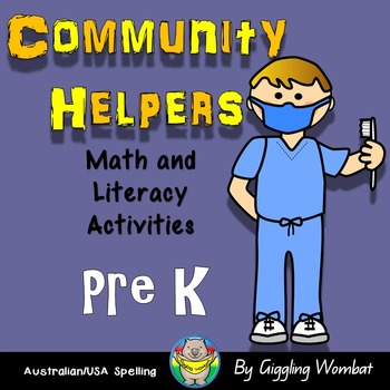 Community Helpers Math and Literacy Activities