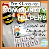 Community Helpers Preschool Language Packet