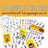 Community Helpers Preschool Language Unit