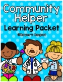 Community Helpers Preschool Packet