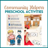 Community Helpers Preschool Theme - Literacy, Math, STEM, & Art Centers