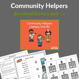 Community Helpers Preschool Unit (Literacy Rich)