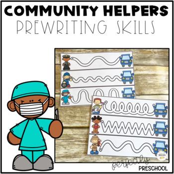 Community Helpers Prewriting Skills {Dollar Deal}