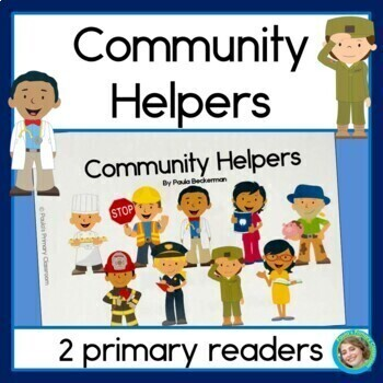 Community Helpers Guided Reading Book