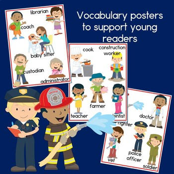Community Helpers  Book and Posters