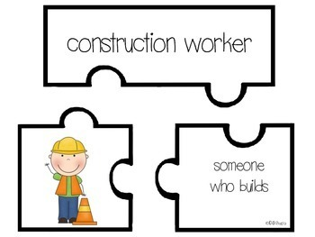 Community Helpers-Putting the Pieces Together