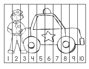 Community Helpers Puzzles
