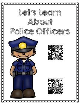 Community Helpers QR Code Nonfiction Research