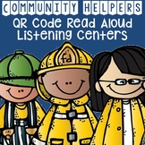 Community Helpers QR Code Read Aloud Listening Centers