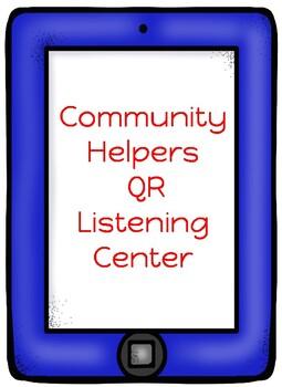 Community Helpers QR Listening Center