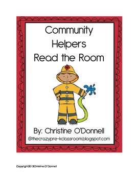 Community Helpers Read The Room