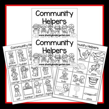 Community Helpers Reader