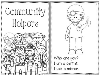 Community Helpers Readers - 3 Levels