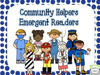Community Helpers Readers - 3 Levels