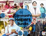 Community Helpers Reading Passage Bundle