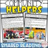 Community Helpers Reading Passages (Take Home Packet)