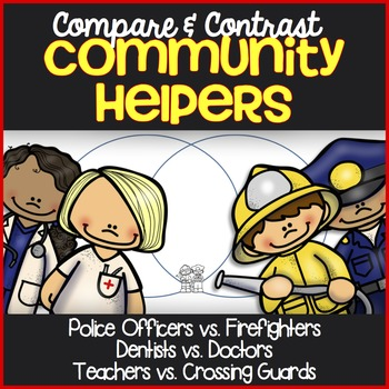 Community Helpers Reading Passages ~ Compare and Contrast