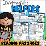 Community Helpers (Take Home Packet) Distance Learning