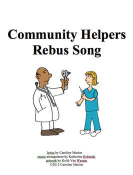 Community Helpers Rebus Song
