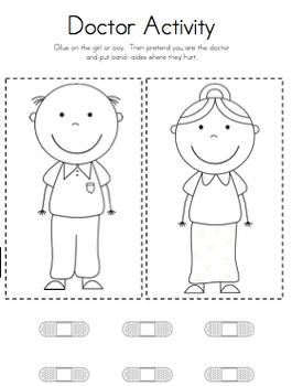 Community Helpers Interactive Book
