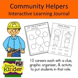 Community Helpers Interactive Book