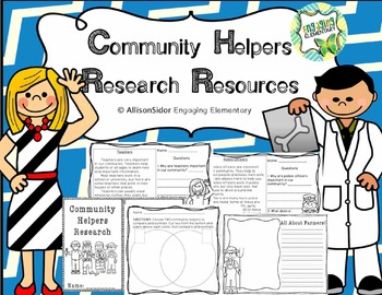 Community Helpers Research Resources