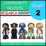 Community Helpers Research Second Grade
