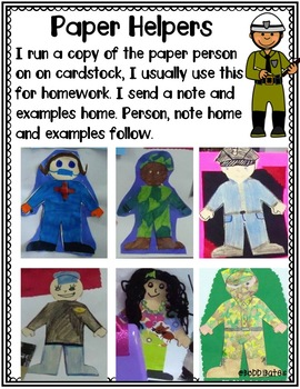 Community Helpers: Research, Study & Writing Activities
