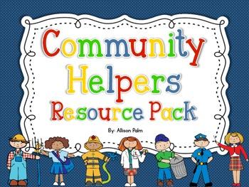 Community Helpers Resource Pack
