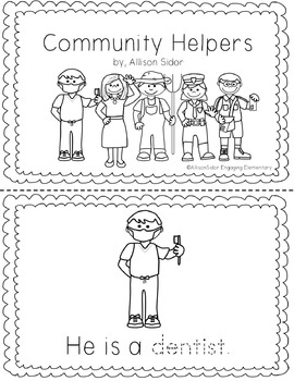 Community Helpers Resources